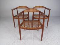 "Mid-Century Modern Matching Set of ""The Round Chair"" by ..."