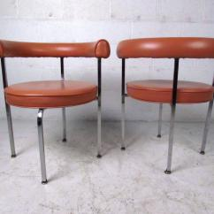 Mid Century Barrel Dining Chair Revolving Repair In Lahore Modern Cassina Style Back Side Chairs
