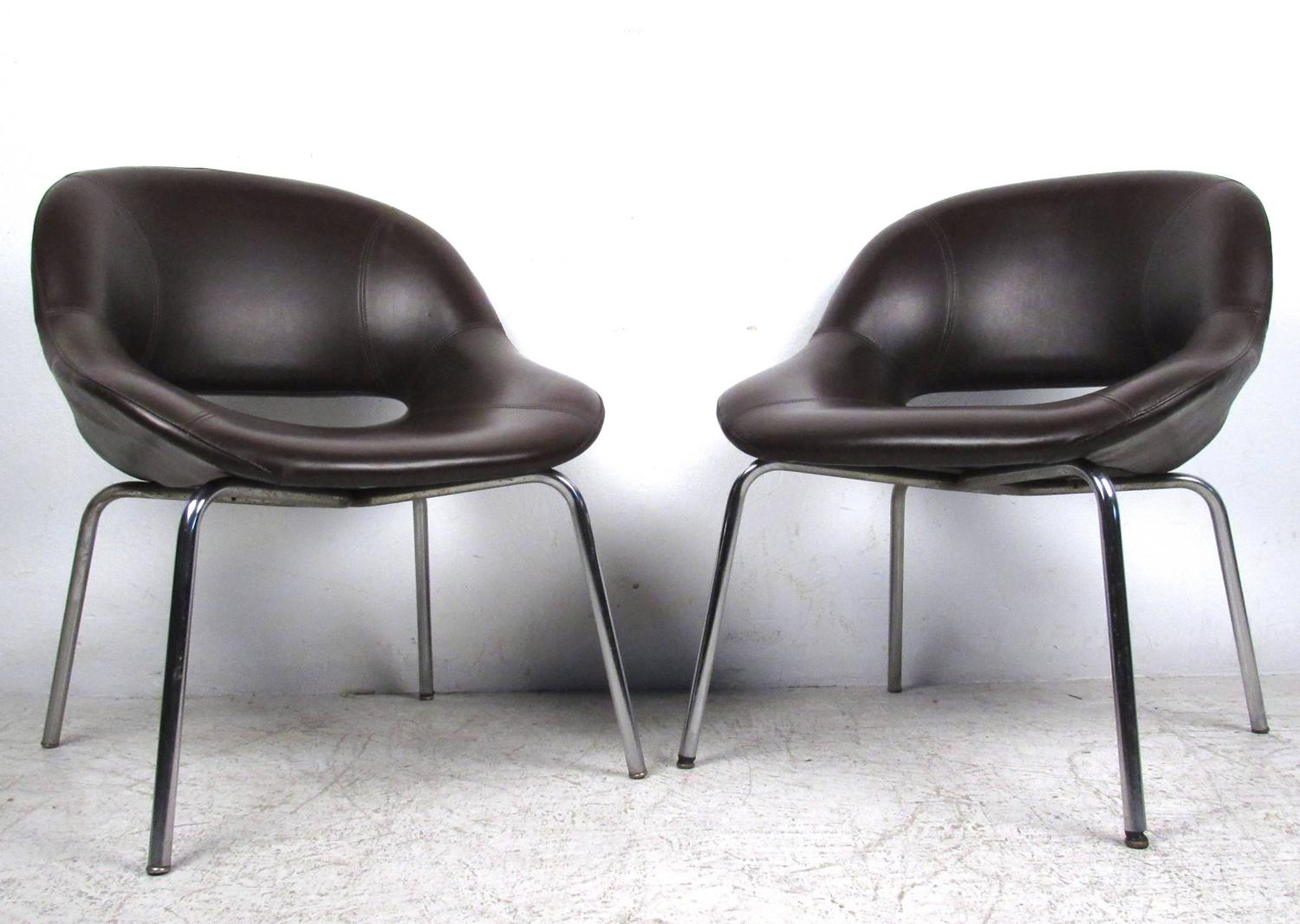 modern conference chairs how much do chair covers cost for a wedding set of mid century saarinen style