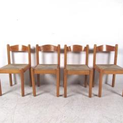 Dining Chairs Italian Design Cheap Patio Chair Cushions Clearance Rush Seat At 1stdibs Mid Century Modern For Sale