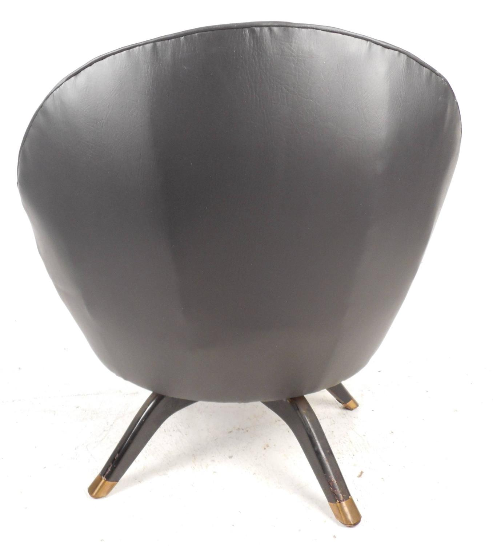 swivel pod chair wheel in delhi mid century modern overman style for sale