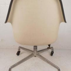 Herman Miller Rolling Office Chair Kodex Accessories Mid-century Modern Shell Desk For Sale At 1stdibs