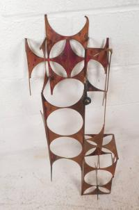 Mid-Century Modern C. Jere Style Copper and Brass Wall Art ...