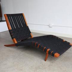 Long Lounge Chair Folding With Back Support Quotlong Quot By George Nakashima At 1stdibs