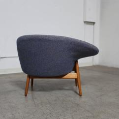 Fried Egg Chair Eames Molded Quotfried Quot By Hans Olsen For Sale At 1stdibs
