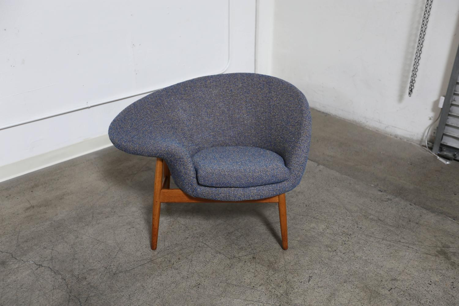 egg chairs for sale canvas directors chair quotfried quot by hans olsen at 1stdibs