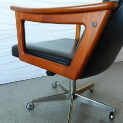Mid Century Modern Desk Chair Hammock Chairs Indoor Danish Teak In The Style Of
