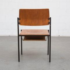 Stackable Church Chairs Repair Leather Chair Thonet Stacking With Book Cubby At 1stdibs