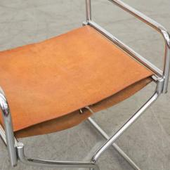 Leather Directors Chair Best Ergonomic Chairs Under 200 Set Of Four Chrome And Folding At