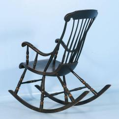 Antique Rocking Chairs For Sale Beach Chaise Lounge Chair Black Swedish With Original