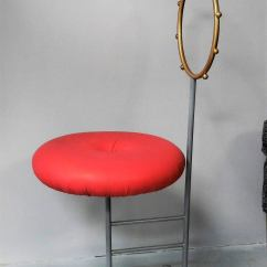 Eames Leather Chair Dining Swivel Overstock Luigi Serafini Santa Chairs For Sawaya And Moroni, Set Of Four At 1stdibs