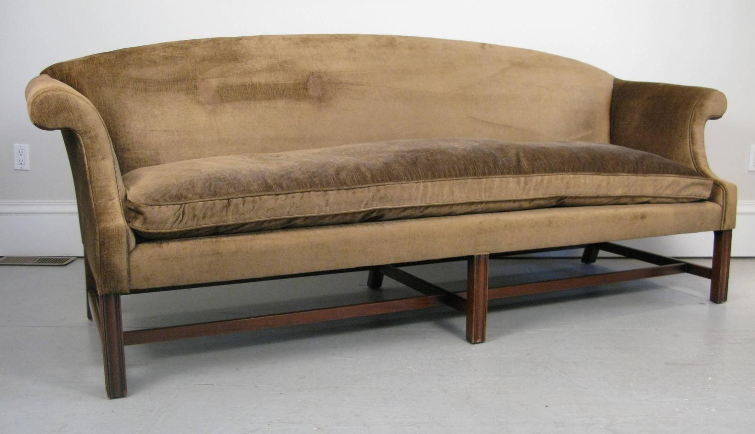 a sofa in the forties flou book transformer bed 1940s kittinger co georgian style at 1stdibs