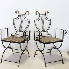 Building An Adirondack Chair Plastic Outdoor Lounge Chairs 1930s Lyre Back Swan Garden Armchairs By Samuel Copelon For Sale At 1stdibs