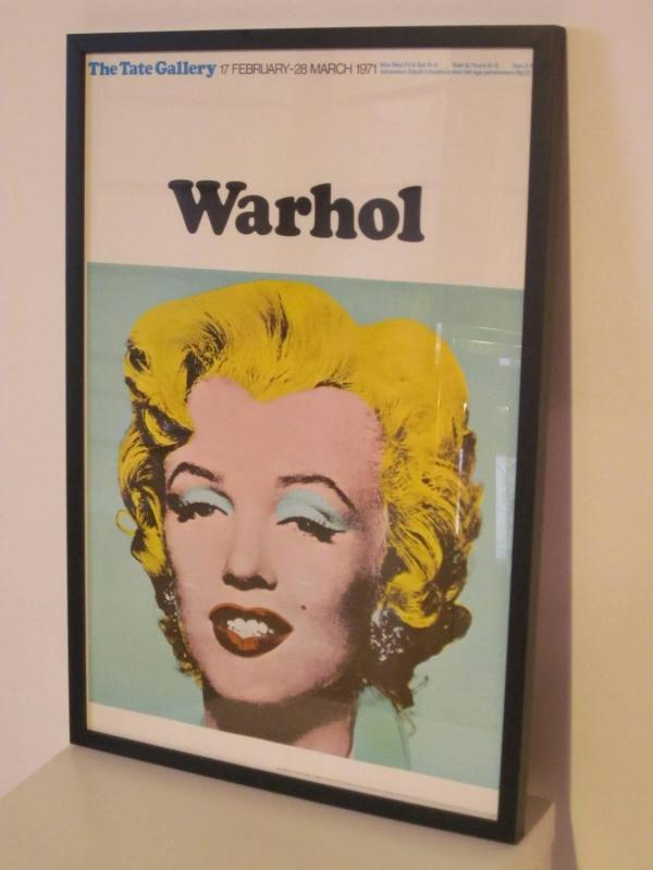 Andy Warhol And Marilyn Monroe Poster Tate