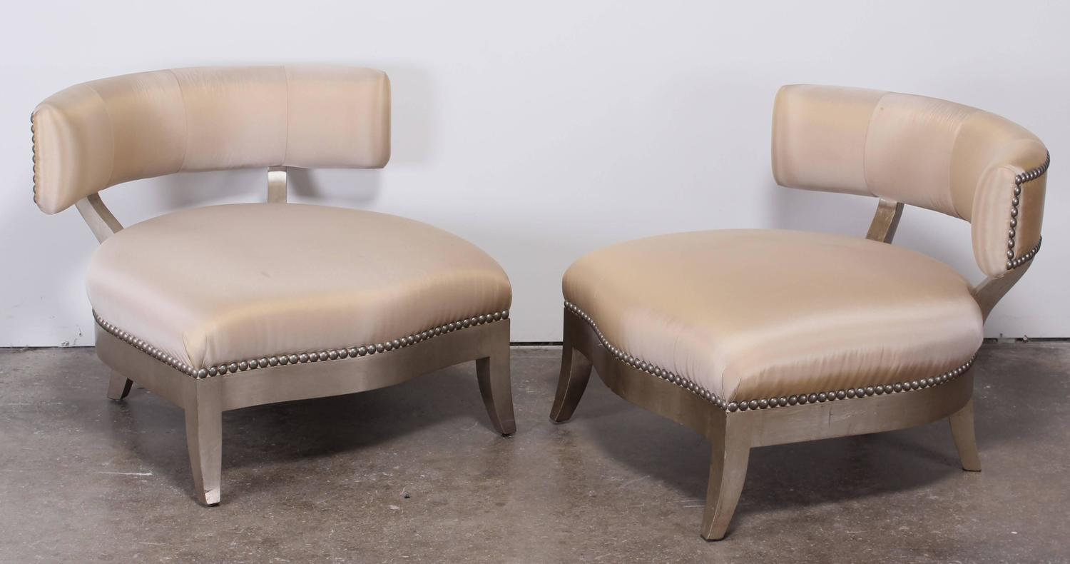 marge carson chairs vinyl chair cleaner pair of 39santorini 39 2000 at 1stdibs