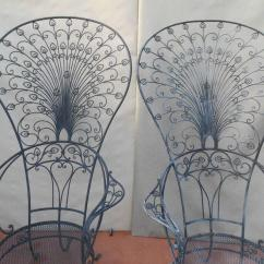 Iron Chair Price Active Sitting Uk Salterini Peacock Wrought Rare Chairs For Sale At 1stdibs