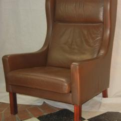 Modern Wingback Chairs For Sale Love Making Chair Images Leather Wing In Danish Børge Mogensen Style