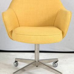 Yellow Office Chair Inglesina Zuma High Knoll Desk In Microfiber For Sale At 1stdibs