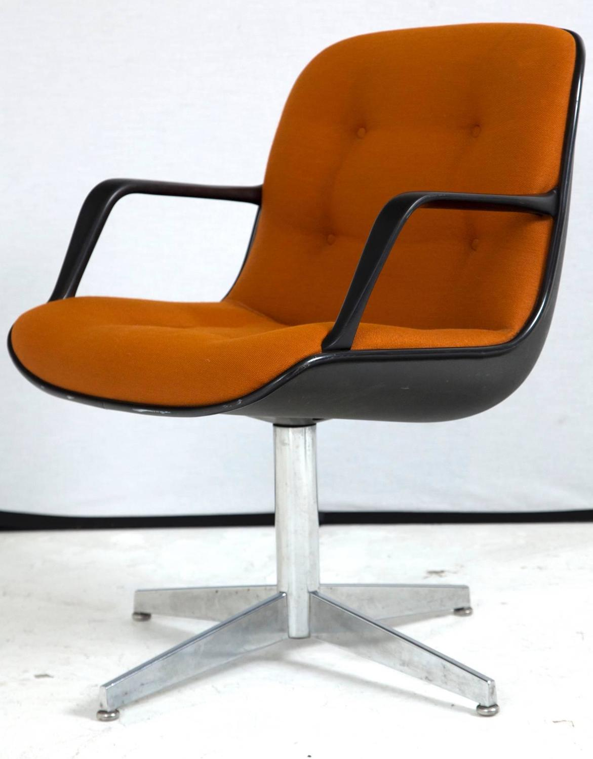 vintage steelcase chair tiffany blue sashes side for sale at 1stdibs