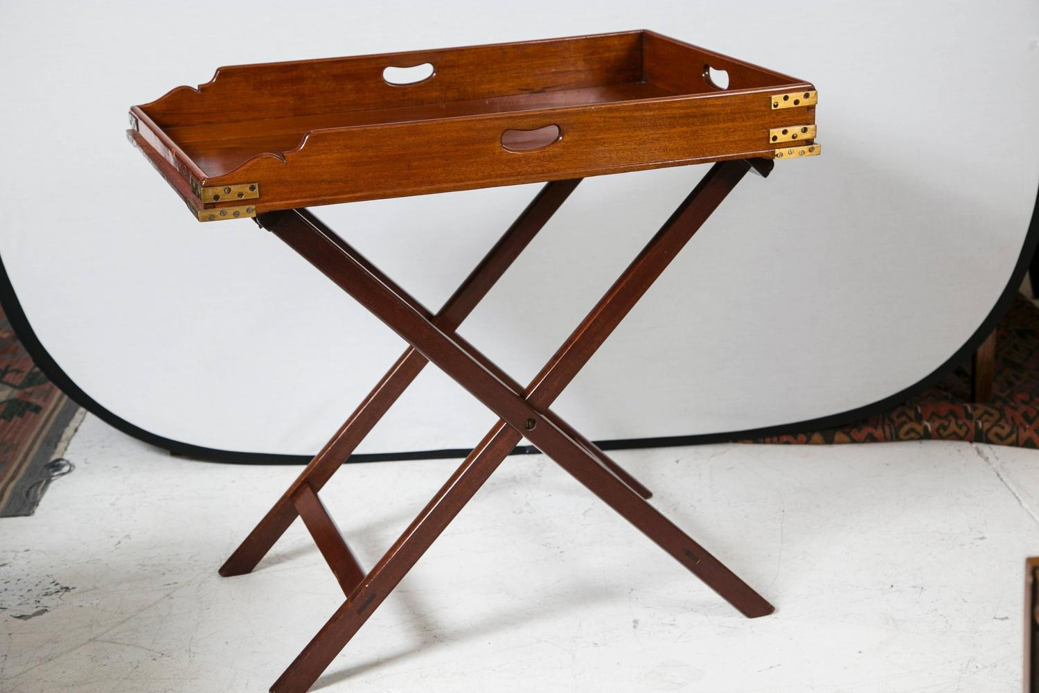 Butler Serving Tray Table