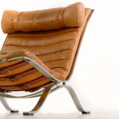 Tan Leather Chair Sale Barcelona Cushions And Straps Brown Ari By Arne Norell For At 1stdibs