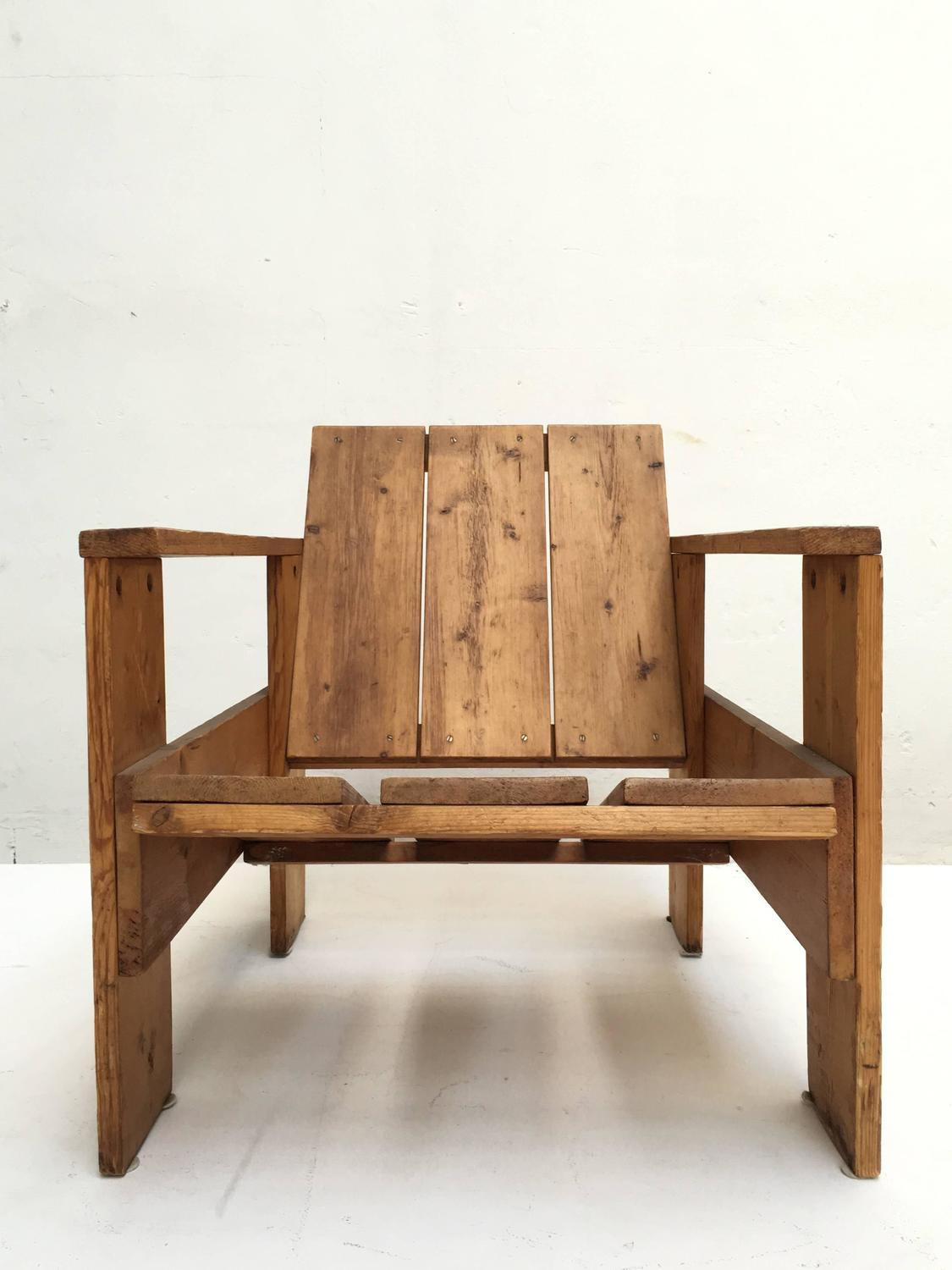 gerrit rietveld crate chair luxury beach chairs 1950s by unknown manufacturer