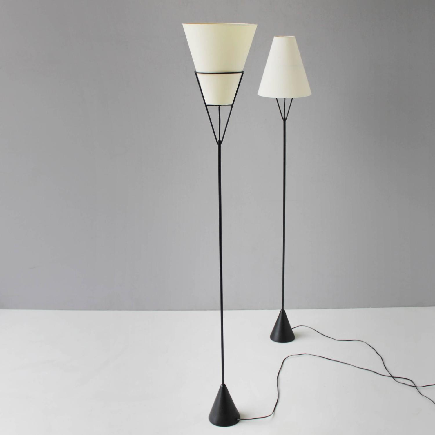 Pair Of Vice Versa Floor Lamps By Carl Aubck For Sale At