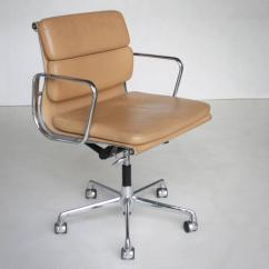 Eames Aluminum Group Management Chair Contemporary Accent Chairs Ea 217 Soft Pad At 1stdibs