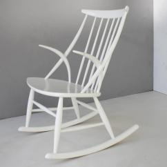 White Rocking Chairs For Sale Desk Chair Sciatica Pain Danish By Illum Wikkelsø At 1stdibs
