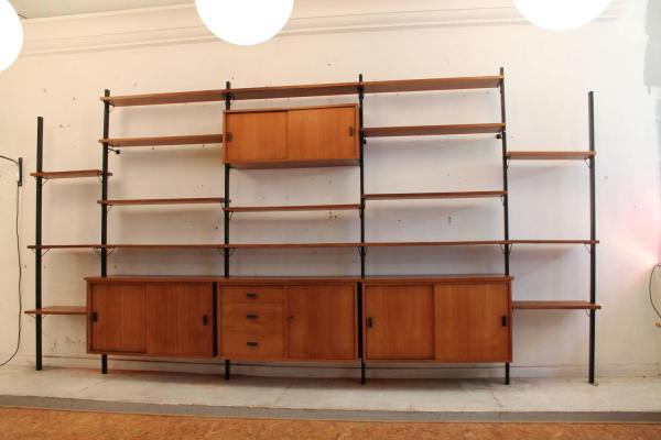 Mid Century Modern Wall Shelves