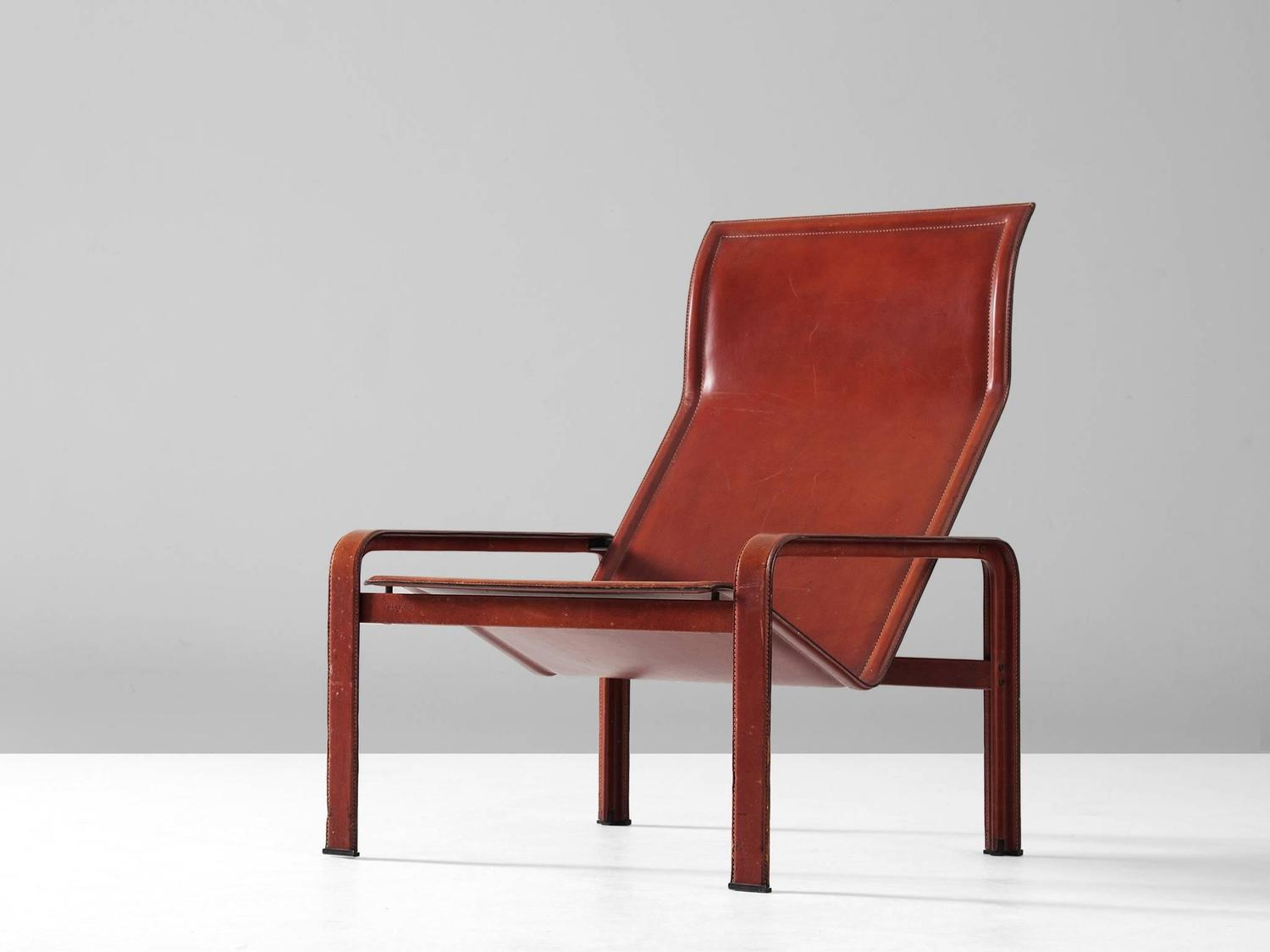red lounge chair the best office in world matteo grassi leather for sale at 1stdibs