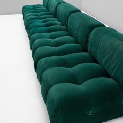 Mario Bellini Chair Mount Keyboard Tray India Camaleonda Modular Sofa In Original Green Upholstery For Sale At 1stdibs