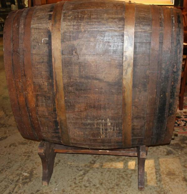 Large French Oak Wine Champagne Barrel Cask Stand