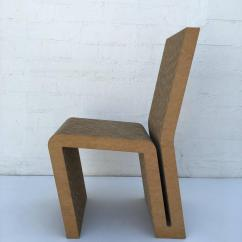 Frank Gehry Cardboard Chair Unusual Rail Ideas Easy Edges Side By For Sale At