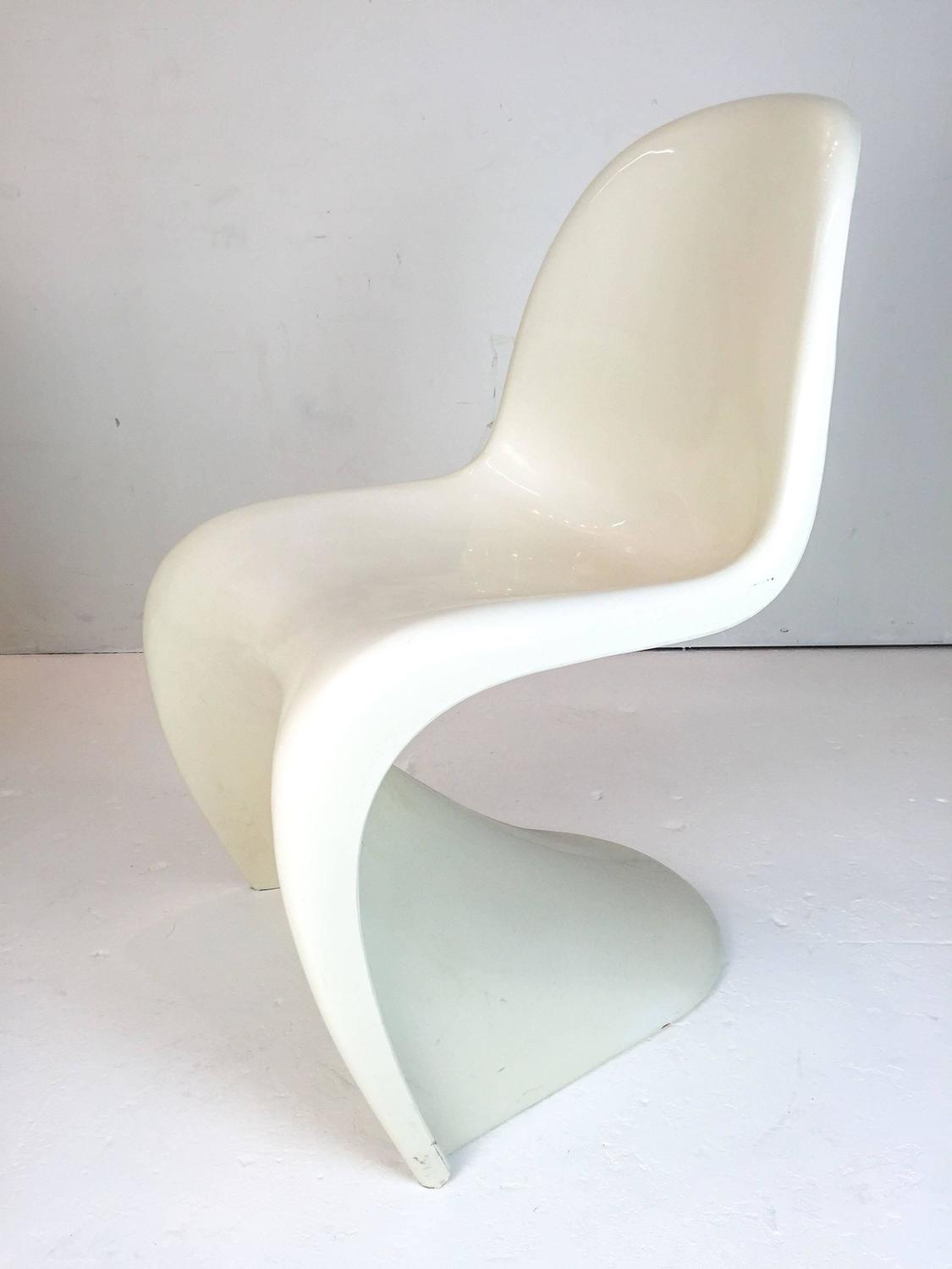 vernon panton chair spotlight covers nz dining table or game set at 1stdibs