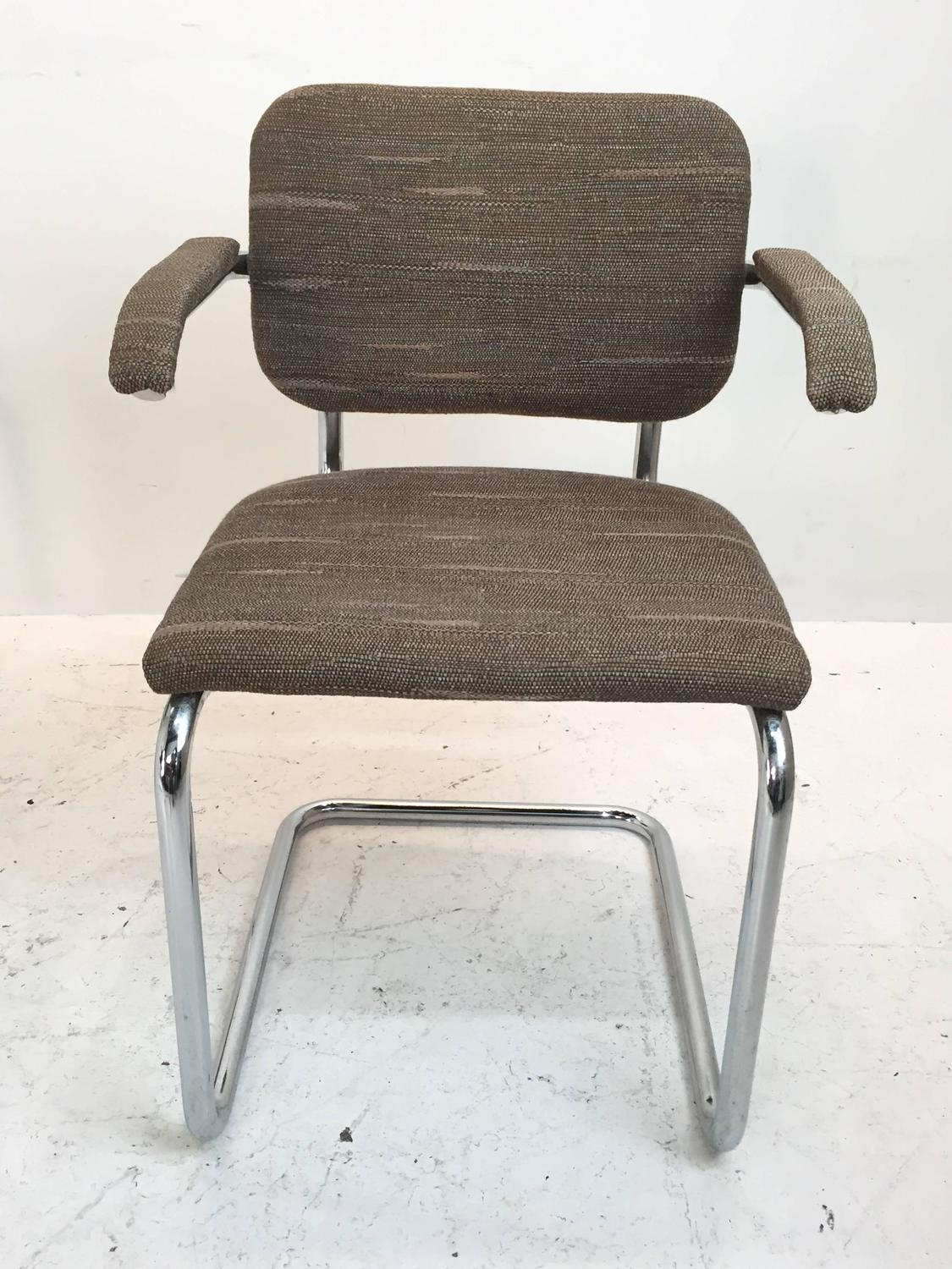 marcel breuer cesca chair with armrests walmart beach chairs on sale set of five for knoll