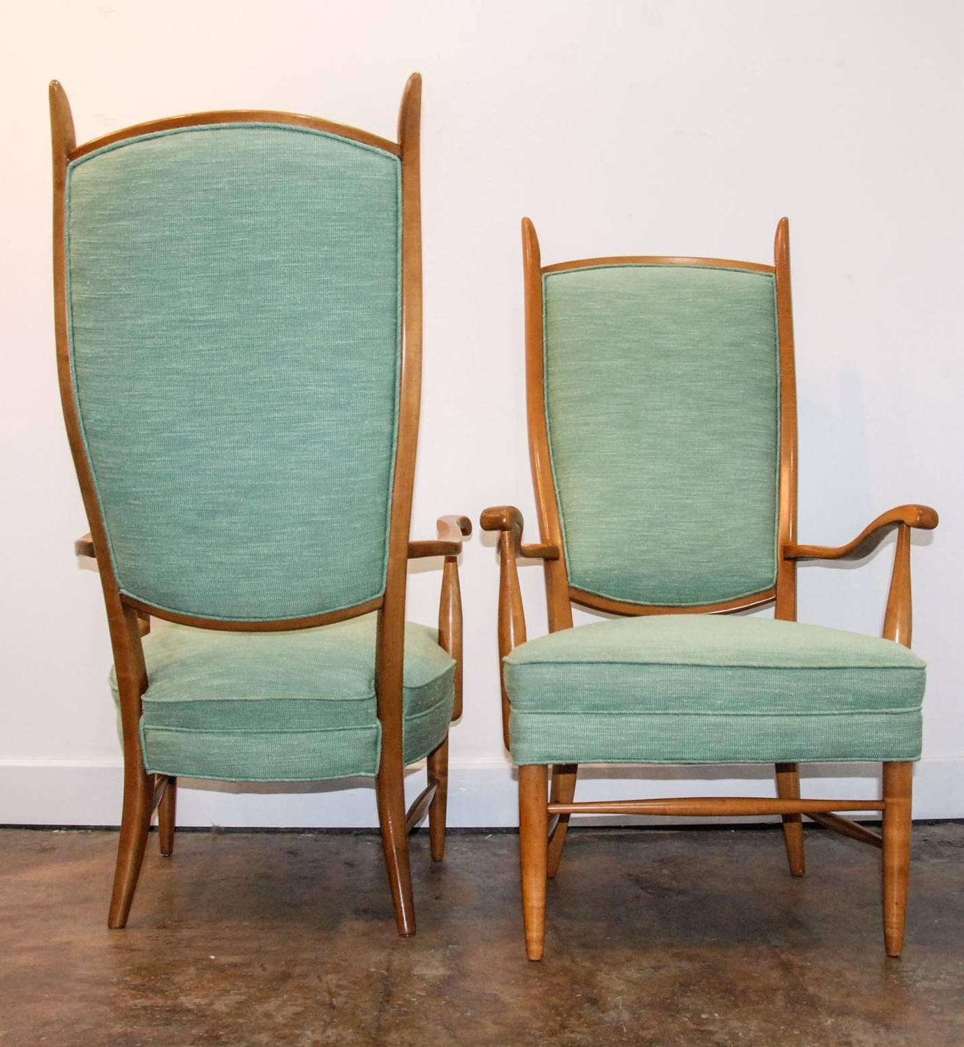 swedish high chair bespoke dining room covers back upholstered chairs style of paolo buffa