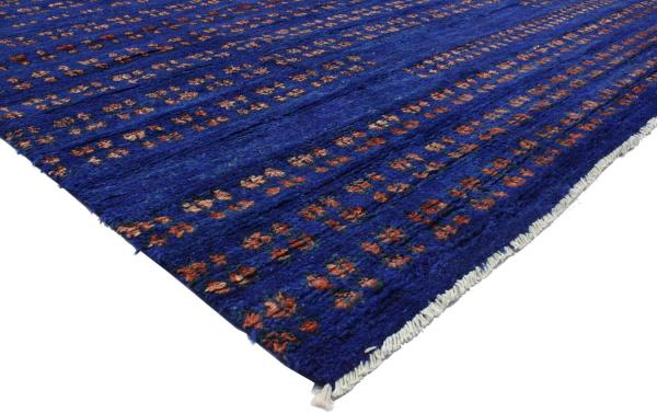 Contemporary Moroccan Style Area Rug In Cobalt Blue 1stdibs