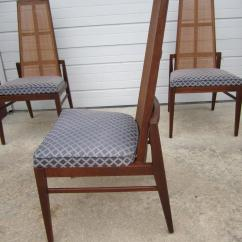 Cane Back Chairs For Sale Aluminum Navy Chair 5 Walnut Foster And Mcdavid Dining Mid