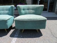 Fabulous Pair of Kroehler, 1950s Swivel Lounge Chairs Mid ...