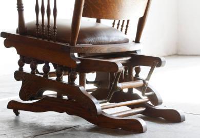Antique High Chair Bentwood