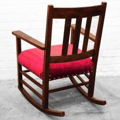 Craftsman Rocking Chair Styles Modern Awesome Period Circa 1915 For