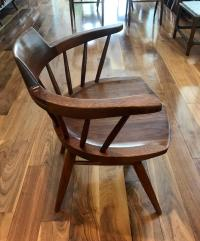 Set of Four Captain Chairs by George Nakashima For Sale at ...