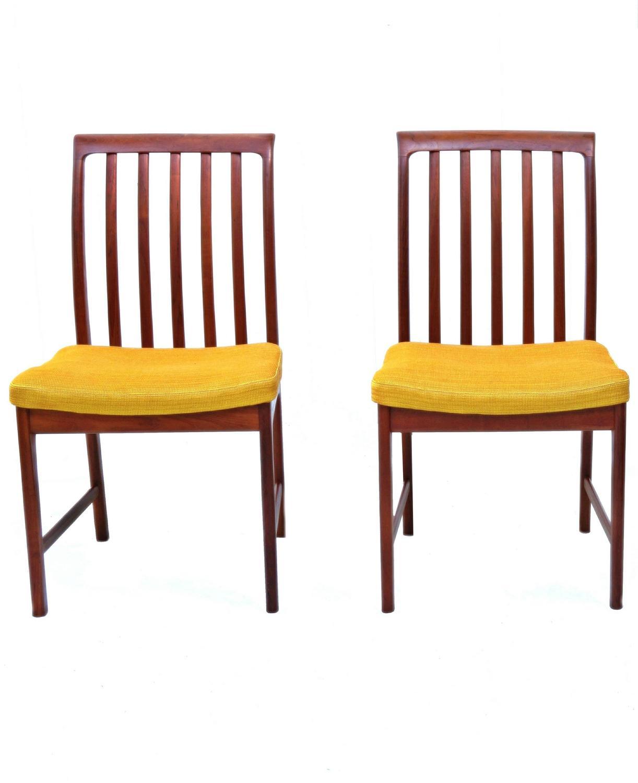 danish modern dining chair and half with ottoman sleeper six folke ohlsson dux teak room