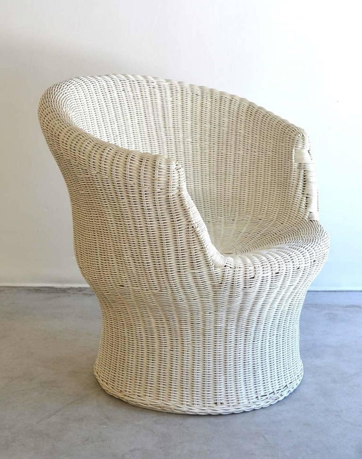 tub chair covers for sale office near me mid century french woven rattan or occasional