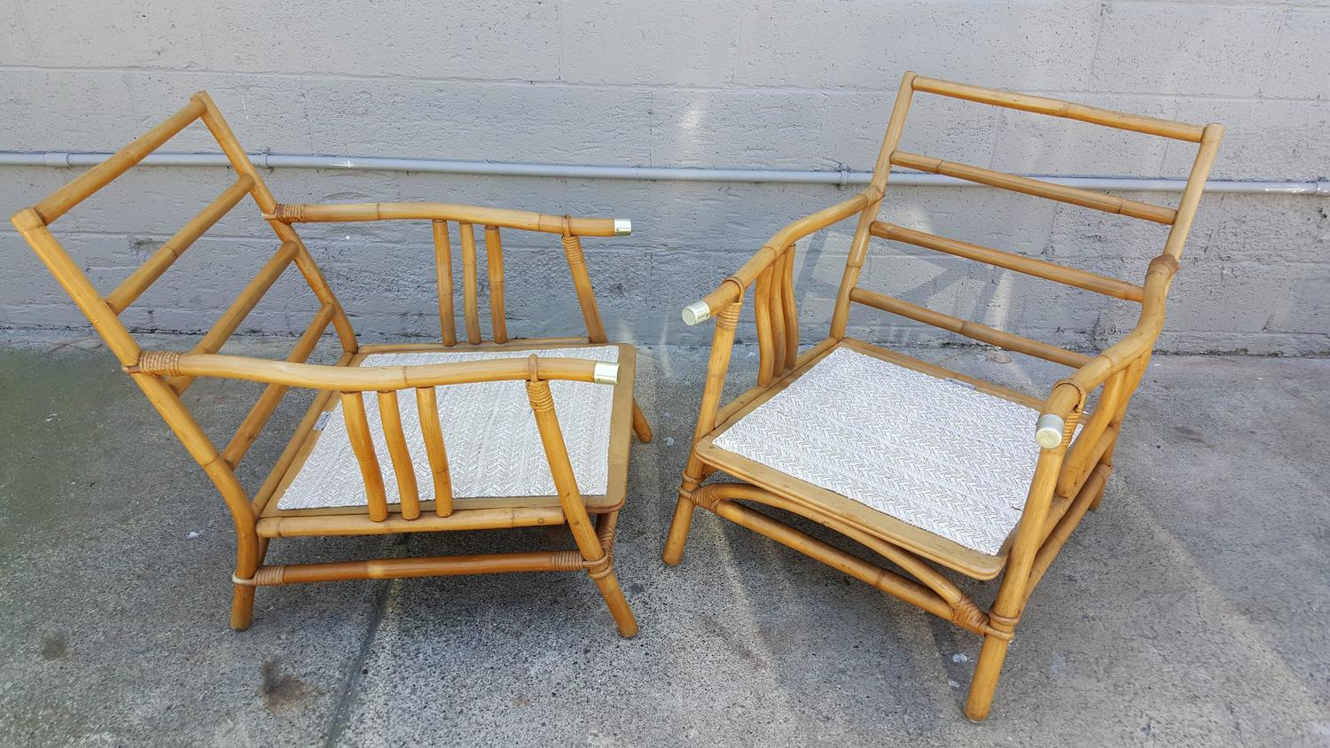 ficks reed chair ivory spandex covers wholesale rattan lounge chairs at 1stdibs