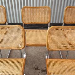 Cane Dining Chairs For Sale Lucite Marcel Breuer Quotcesca Quot Tubular Chrome Steel And