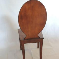 Maitland Smith Dining Chairs Office Chair Kneeling Vintage Wood Hall At 1stdibs
