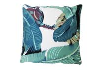 "Beverly Palm ""martinique Banana Leaf"" Throw Pillow"