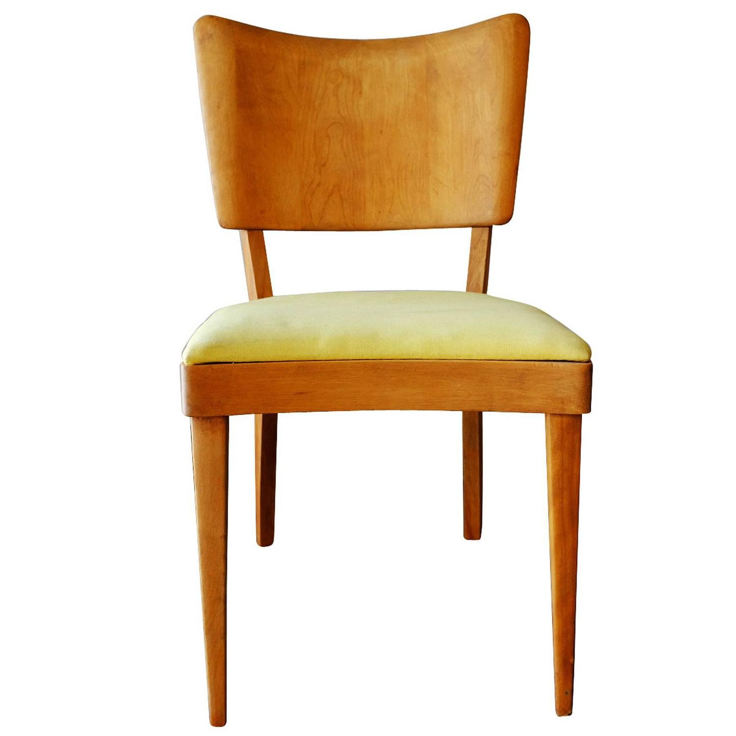 heywood wakefield dogbone chairs stackable resin green closed quotdogbone quot dining side set